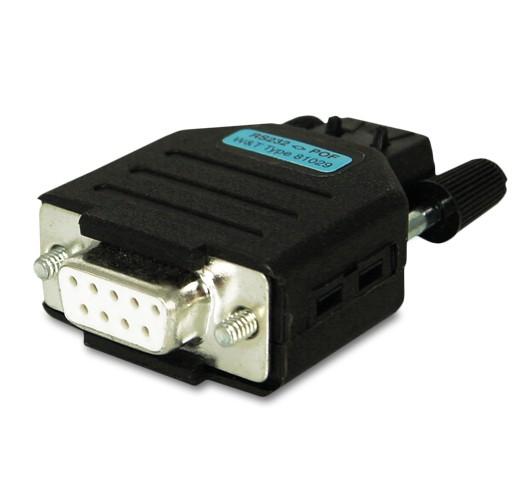 RS232 Isolator LWL STD 9Pin RL