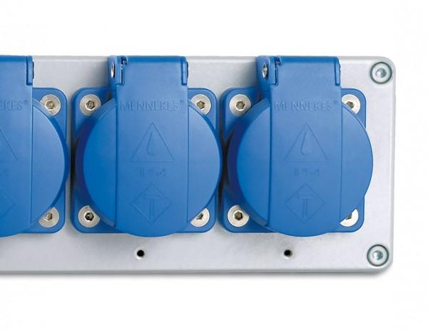 Industrial multiple socket e-medic™ Powerstrip 500 EU
