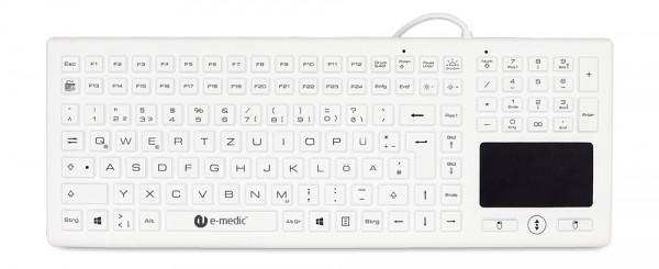 Medical silicone Keyboard e-medic BLT03