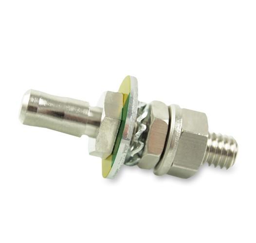 PE potential equalisation built-in plug 6mm DIN 42801