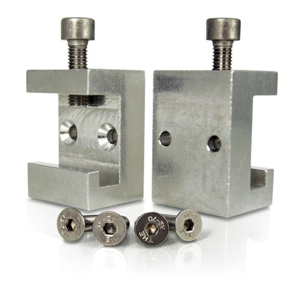 MEDX ZPA standard rails clamps (2 Pcs)
