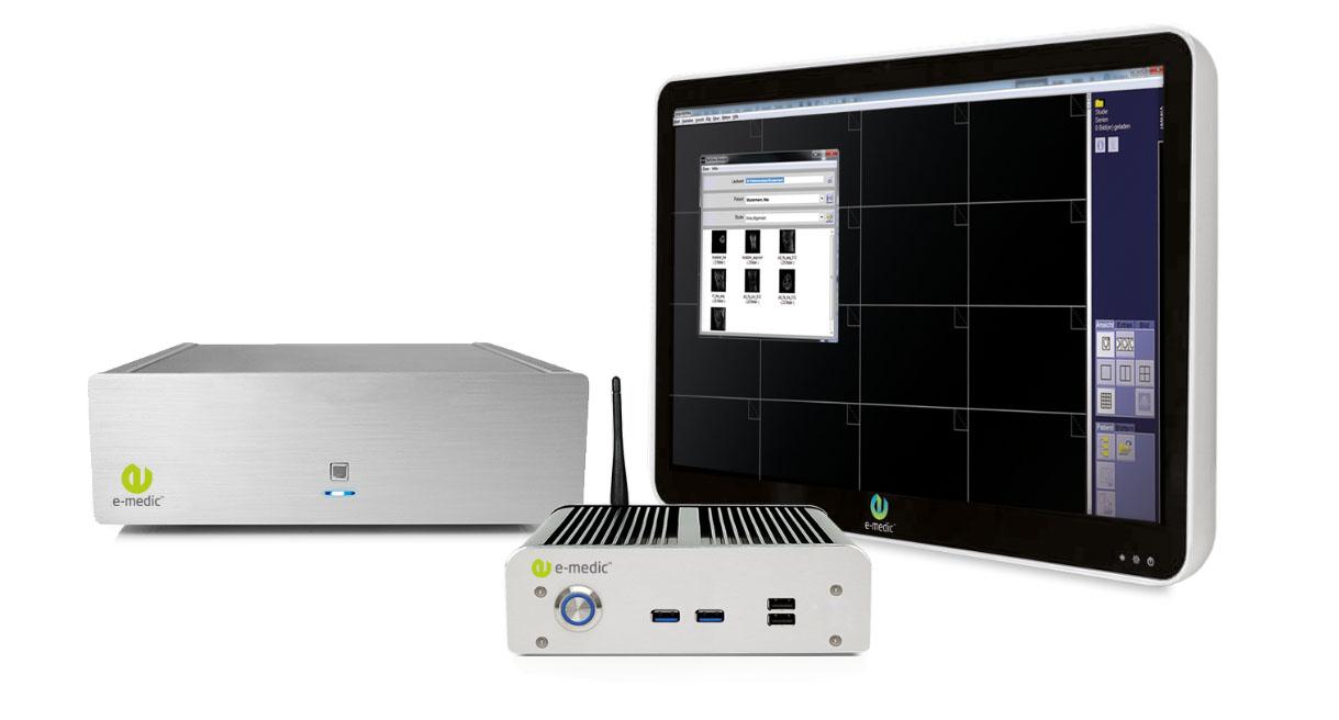 Medizinische Computer / Medical PC von e-medic